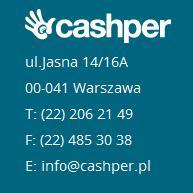 Cashper Kontakt
