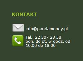 Kontakt Pandamoney