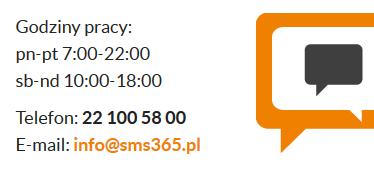 SMS365 info