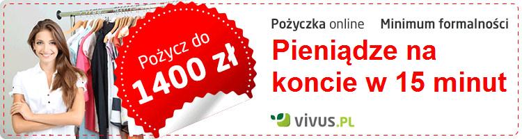 Pożycz do 1400 zł