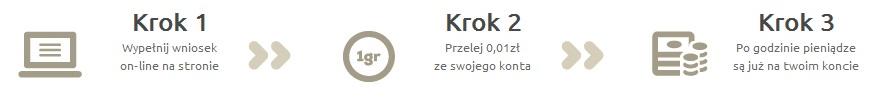 Ekspreskasa.pl porządek otrzymania kredytu